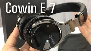 Video Cowin E-7 Active Noise Cancelling Wireless Bluetooth Over-ear Stereo Headphones review MP3, 3GP, MP4, WEBM, AVI, FLV Juli 2018