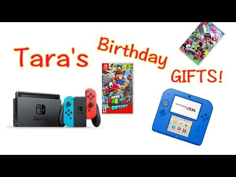 Nintendo Switch, 2DS, and more! (Best Birthday Ever!)
