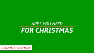 Dope Apps For Christmas Day | Day 10