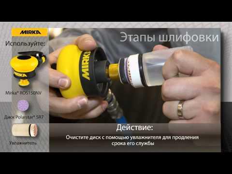Микроабразивы Polarstar® SR для точечного ремонта ЛКП