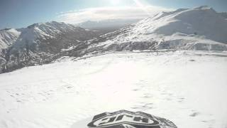 7. 2005 ski doo summit 600 rev hill climb go pro hero hd