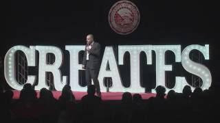 Jacob Thompson, Keynote Speaker UNLV Creates 2016