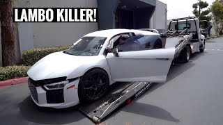 I Bought a WRECKED Audi R8 & I'm going to Rebuild it! by TJ Hunt