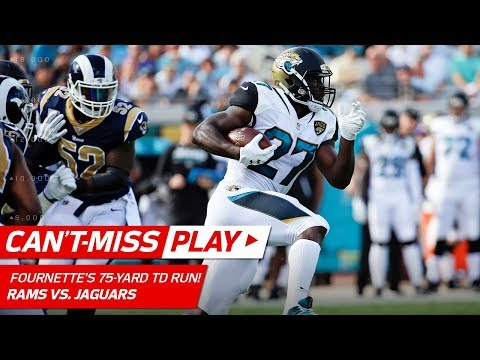 Video: Leonard Fournette's Lightning-Fast 75-Yd TD Run! | Can't-Miss Play | NFL Wk 6 Highlights