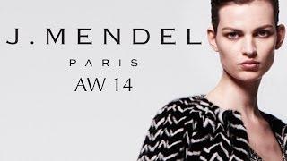 J. Mendel Fashion Show, New York Fashion Week AW14 With Dr. Lisa Airan