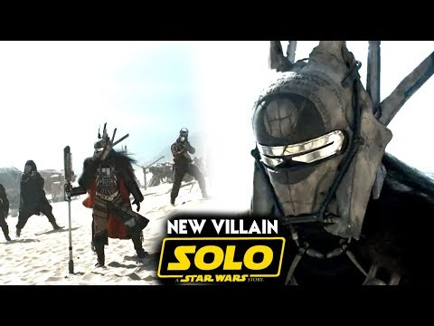 Solo A Star Wars Story New Villain Name Revealed! (Han Solo Movie Trailer)