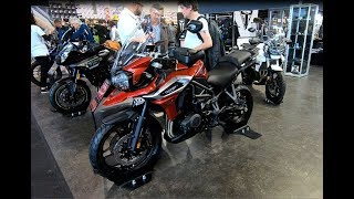 10. TRIUMPH TIGER 1200 XRT ADVENTURE TOURING BIKE NEW MODEL 2018 WALKAROUND