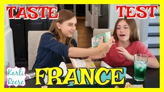 """My friend Sydney and I try some snacks from France! Go to http://www.TryTreats.com/subscribe/ and use code """"KARLIREESE"""" to save 15% on your first box of treats! You can buy just one box or sign up to get a new box from a new country every month!♥  SUBSCRIBE!   http://bit.do/karlireeseI post new videos every Friday!Watch my last video - 1 Year Ago - Daily videos at my Our Family Nest - http://youtube.com/ourfamilynestMy Mom's Channel - http://bit.ly/2ffeAACMy Dad's Channel - http://bit.ly/2gh00roAndrew's Channel - I am Drew -  http://youtube.com/iamdrew95♥ FOLLOW ME ♥i  n  s  t  a  g  r  a  mhttp://instagram.com/karlireeset  w  i  t  t  e  rhttp://twitter.com/karlireesem u s i c a l y . l y24_karkar_24f  a  c  e  b  o  o  k http://facebook.com/iamkarlireeseb  l  o  g   http://karlireese.com*************************************************************♥ BUSINESS INQUIRIES ♥mail@ourfamilynest.com - Subject Line """"KarliReese""""*************************************************************Thank you for watching my video today! You can also find me on our family's channel - Our Family Nest.  On my channel you will find more of what I love... shopping, crafts, dance, gymnastics, and my pets…Pretty much anything girly! Thank you for stopping by and I hope you have fun here on my channel.Note... My YouTube channel is monitored and ran by my parents :)♥ Karli ReeseSome Music in videos by Epidemic Sound - http://www.epidemicsound.comThis video is not sponsored.  Try Treats did send me the box for free to share on my channel."""