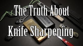 My thoughts on Sharpening Knives and what has worked for me. Ultimately, you have to do the best you can, utilizing the sharpener you have - in the most effective way.Filmed with a Canon EOS M 18-55, Mic Zoom H1 RecorderI'd appreciate if you could like our FB page here: http://www.facebook.com/beactivelifeThanks!