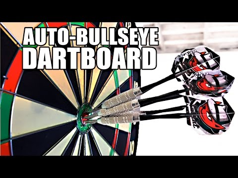 Mark Rober s Automatic Bullseye Dartboard