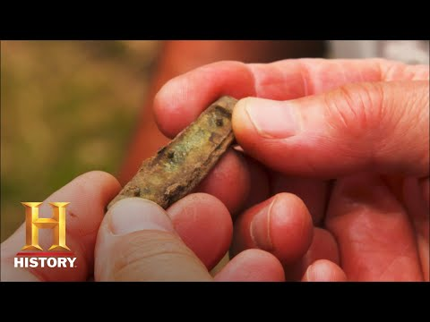 The Curse of Oak Island: ANCIENT KNIFE UNEARTHED (Season 8)   History