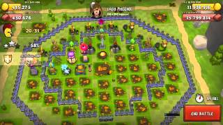 Just a quick raid video with the 3x bonus on resources. Town center 16 gameplay.