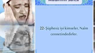 Abdussamed Mutaffifin Suresi 18-26