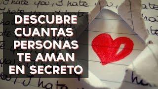 Cuántas personas están enamoradas de ti en secreto? Descubre cuántas personas te aman en secreto con este divertido test! ↠↠ ¡No te olvides de suscribirte ...