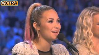 If Demi Lovato Had a PIG She'd Name It Simon Cowell - 'X Factor USA'
