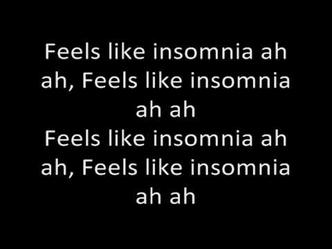 Insomnia-craig David Lyrics Video Hq