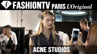 Acne Studios Spring/Summer 2015 BACKSTAGE | Paris Fashion Week PFW | FashionTV