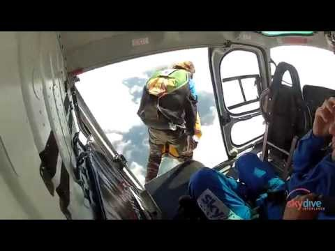 Skydive Interlaken Sergio 19.8.2014