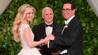 Louise Linton, wife of Treasury Secretary Steven Mnuchin, caused controversy on Aug. 21 when she boasted of traveling on a ...