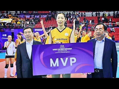 Zhu Ting | MVP | Best Outside Hitter | FIVB Women's Clubs World Championship 2018