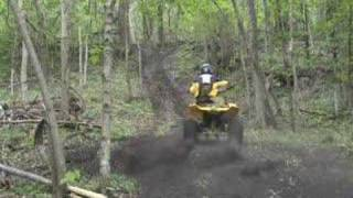 4. Riding Movie Polaris Scrambler 500 4X4