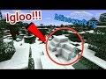 Seed igloo di Minecraft PE