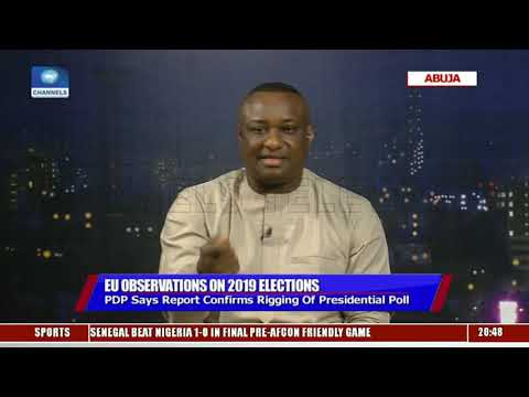 EU Report On 2019 Election A Mixed Grill - Buhari's Spokesperson