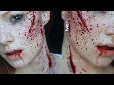 tube66 - WARNING: This can be considered a little gory for those of you who are not too great with seeing blood (although it is fake). Can't say I didn't warn you! :)...