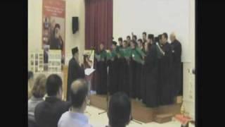 Tiranë   Mbrëmje Me Muzikë Bizantine Part 1