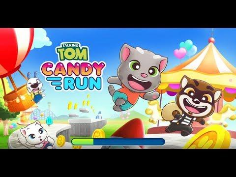 《湯姆貓糖果跑酷》手機遊戲玩法與攻略教學!