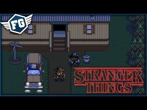 HLEDÁME DĚTI - Stranger Things: The Game [MOBILNÍ HRA]