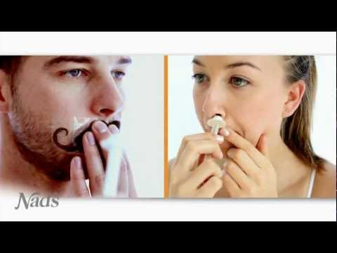 Nad's Nose Wax - Nose Hair Removal Video