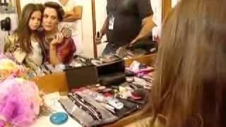 Sophia filha de Claudia Raia mostra como foi sua gravação na novela ti ti ti.