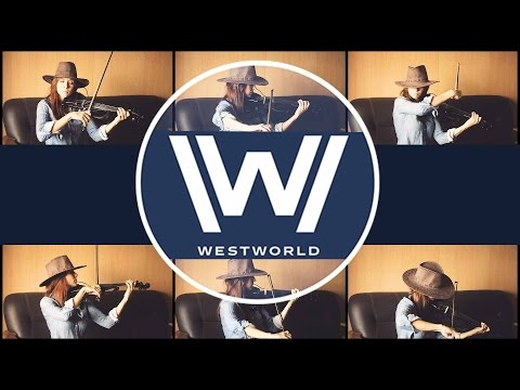 Westworld - Opening Theme Cover by Anastasia Soina Violin
