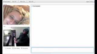 Chat Roulette Funny Piano Improv #2