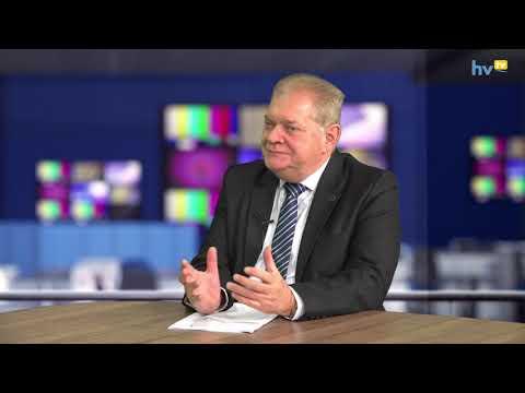 Czeglédi Gyula évértékelője a Hajdúszoboszlói Városi Televízióban