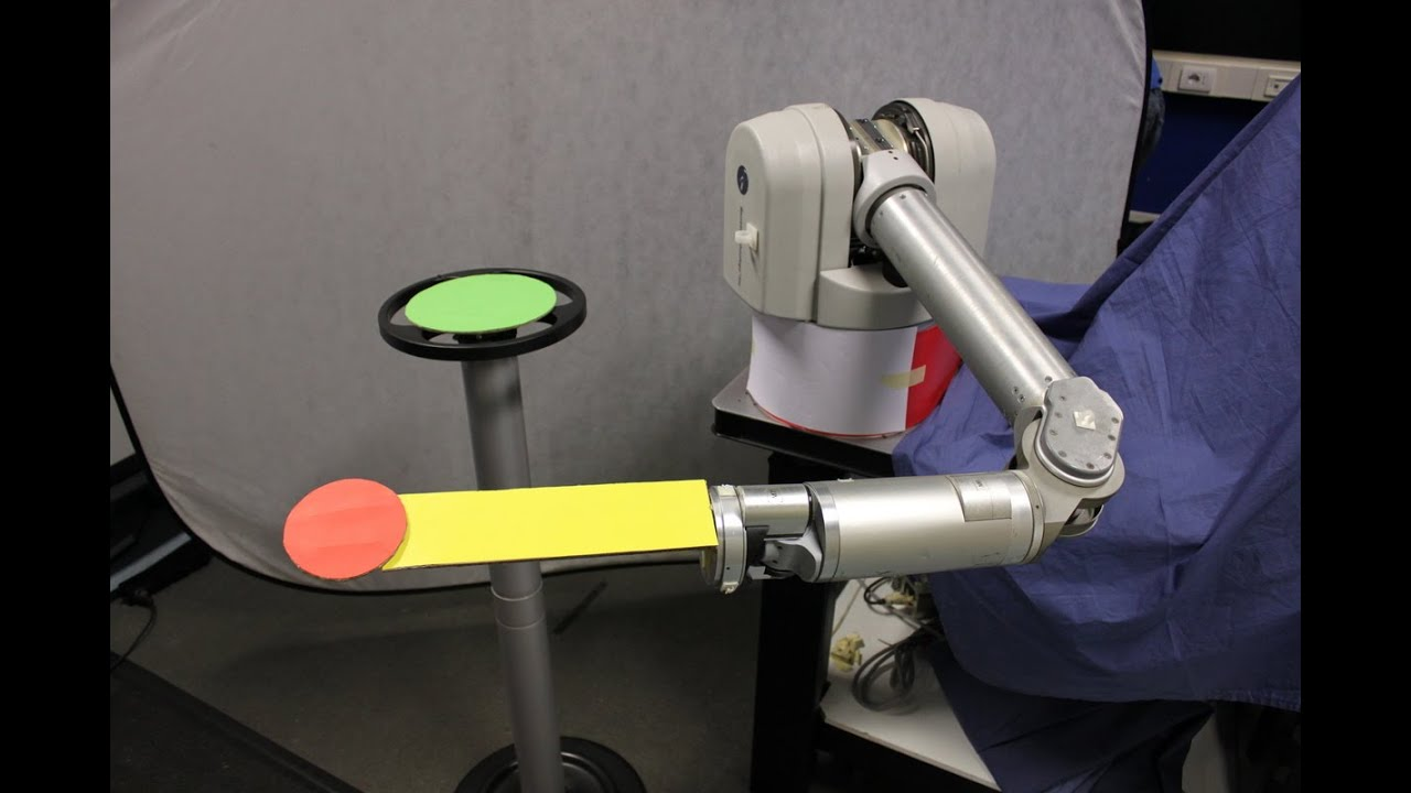 Kinematic-free Position Control of a Robot Arm. A novel concept for position control of a robot arm based on encoderless robot controller that does not rely on any joint angle sensing.