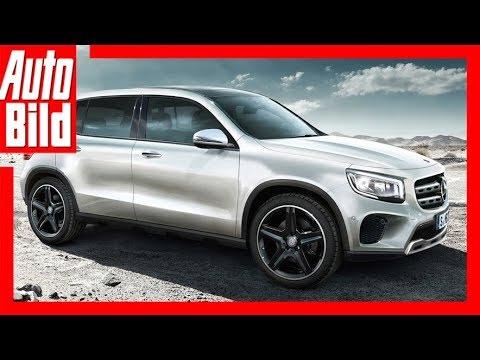 Mercedes-Benz GLB - Zukunftsaussicht (2018) Details/E ...