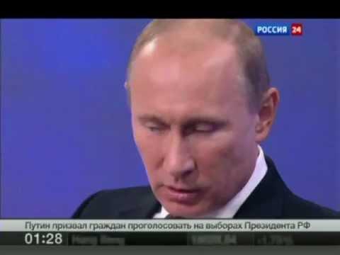 Путин об интернете и интернетчиках (видео)