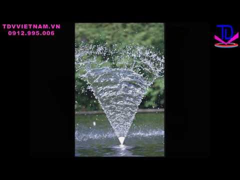 Vòi phun nước Fan Jet - Vòi phun đài phun nước