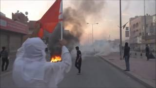 Sitrah Bahrain  City new picture : Bahrain The First Day Of 2016 in Sitra Island Villages Armoured vehicles Attack People