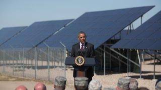 Obama Speaks on Jobs in America's Solar Energy