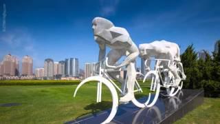 DaLian 大连 city in time-lapse