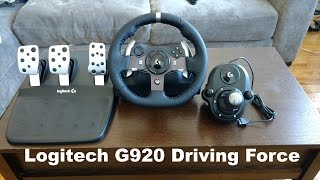Logitech G920 Driving Force Review [Forza 6]