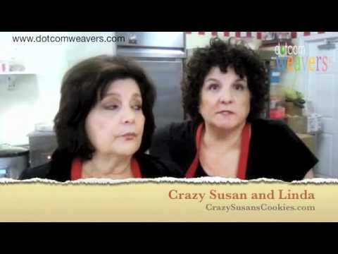Crazy Susans Cookies - Testimonial for NJ Web Design company