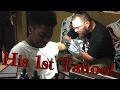 My Son Got His 1st Tattoo! 💉😱