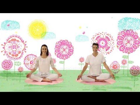 """YOGIC / Yoga para Niños - Cápsula """"El cuento de las mariposas"""" - Juegos y canciones infantiles"""