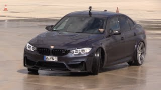 During the Petrolhead Spring Event I have filmed a BMW M3 F80 '30 Jahre edition' tuned by Manhart (the MH3 550 Manhart). It did some loud revs and they trying to drift to improve his drift skills! The Manhart MH3 has new wheels, new hood and has 550HP! I hope you will enjoy the video.Feel free to hit the 'thumbs up' button if you like the video! Make sure that you follow me on YouTube and subscribe to my supercar channel for the latest videos!BE SURE AND WATCH THIS VIDEO IN 1080p HD 50FPS QUALITY!Facebook: http://www.fb.com/cvdzijdenInstagram: https://instagram.com/cvdzijdenThanks for watching!Ciao, Chris /CvdZijden