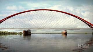 Оловозаводской (Бугринский) мост в Новосибирске