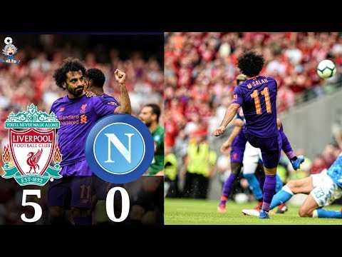 Liverpool Vs Napoli All Goals & Highlights🔥04/08/2018 HD